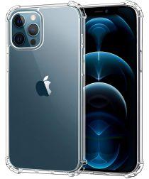 Apple iPhone 12 Pro Max Hoesje Schokbestendig en Dun TPU Transparant