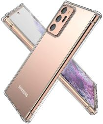 Samsung Galaxy Note 20 Ultra Hoesje Schokbestendig Dun TPU Transparant