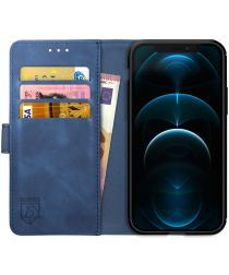 Rosso Element iPhone 12 Pro Max Hoesje Book Cover Blauw