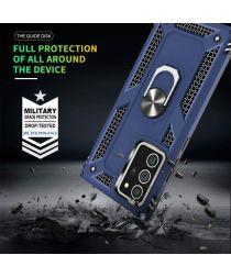 Samsung Galaxy Note 20 Ultra Hybride Kickstand Hoesje Blauw