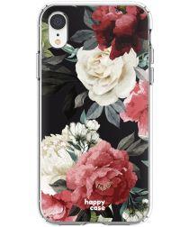 HappyCase Apple iPhone XR Hoesje Flexibel TPU Rozen Print