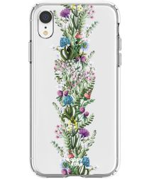 HappyCase Apple iPhone XR Hoesje Flexibel TPU Floral Print