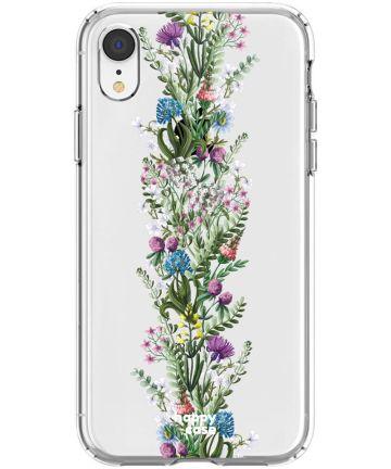 HappyCase Apple iPhone XR Hoesje Flexibel TPU Floral Print Hoesjes