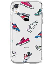 HappyCase Apple iPhone XR Hoesje Flexibel TPU Sneaker Print