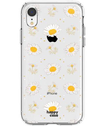 HappyCase Apple iPhone XR Hoesje Flexibel TPU Bloemen Print Hoesjes