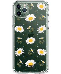 HappyCase iPhone 11 Pro Hoesje Flexibel TPU Bloemen Print