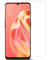 IMAK Oppo A91 Screenprotector Soft TPU Display Folie Clear