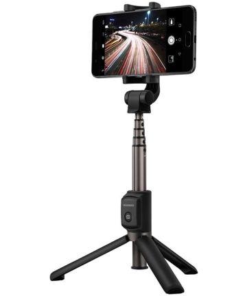 Huawei 2-in-1 Draadloze Bluetooth Camera Tripod / Selfie Stick Zwart Houders
