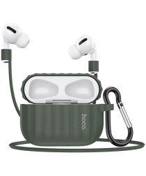 Hoco Fenix Apple AirPods Pro Siliconen Hoesje Groen