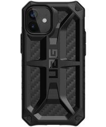Urban Armor Gear Monarch Apple iPhone 12 Mini Hoesje Carbon Fiber