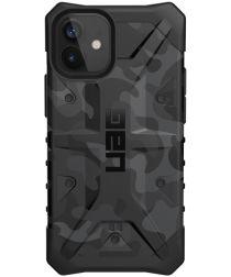 Urban Armor Gear Pathfinder Apple iPhone 12 Mini Hoesje Midnight Camo