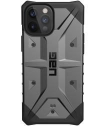 Urban Armor Gear Pathfinder iPhone 12 Pro Max Hoesje Zilver