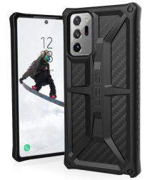 UAG Monarch Samsung Galaxy Note 20 Ultra Hoesje Carbon Fiber