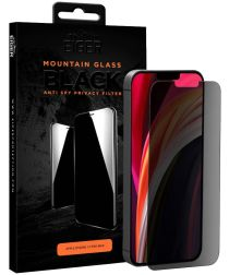 Eiger Mountain Privacy Tempered Glass iPhone 12 Pro Max Zwart