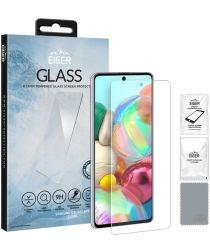 Eiger 2.5D GLASS Samsung Galaxy A71 Screenprotector Tempered Glass