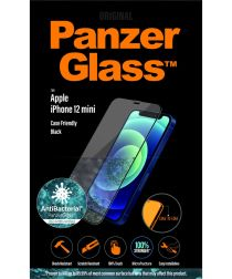 PanzerGlass Apple iPhone 12 Mini Screenprotector Antibacterieel Zwart