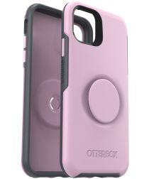 Otter + Pop Symmetry Series Apple iPhone 11 Hoesje Roze