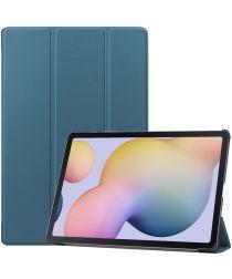 Samsung Galaxy Tab S7 Plus Tri-fold Hoes Groen