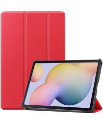 Samsung Galaxy Tab S7 Tri-fold Hoes Rood