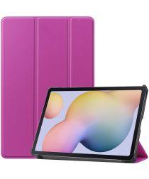Samsung Galaxy Tab S7 Tri-fold Hoes Paars