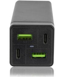 4smarts Multigan Adapter 2x USB-C en 2x USB 78W