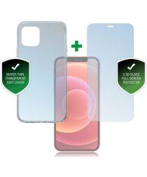4smarts 360° Premium Protection Set Apple iPhone 12 Mini Transparant