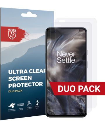 Rosso OnePlus Nord Ultra Clear Screen Protector 2-Pack