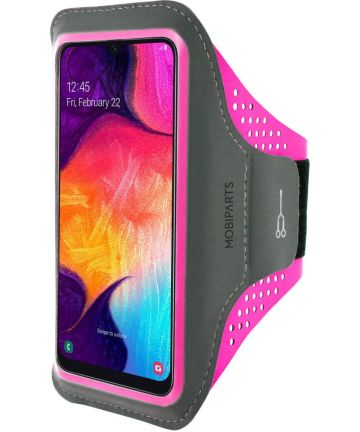 Mobiparts Comfort Fit Sport Armband Groot Universeel Roze Sporthoesjes
