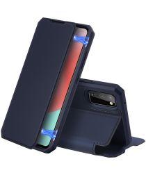 Dux Ducis Skin X Series Samsung Galaxy A41 Hoesje Blauw