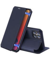 Dux Ducis Skin X Series Apple iPhone 12 Pro Max Flip Hoesje Blauw
