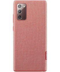 Origineel Samsung Galaxy Note 20 Hoesje Kvadrat Cover Rood