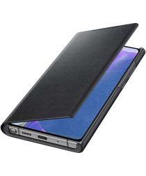 Origineel Samsung Galaxy Note 20 Hoesje LED View Cover Zwart