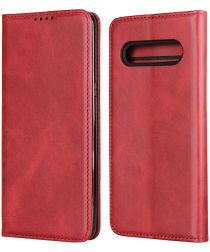 LG V60 ThinQ Portemonnee Stand Hoesje Rood