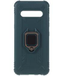 LG V60 ThinQ Kickstand Back Cover Groen
