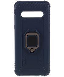 LG V60 ThinQ Kickstand Back Cover Blauw