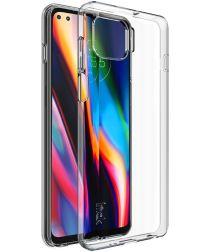 IMAK UX-5 Series Motorola Moto G 5G Plus Hoesje Flexibel Transparant