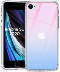 ESR Ice Shield iPhone SE (2020) Hoesje Hard Plastic Rood / Blauw