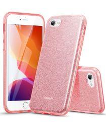 ESR Make Up Glitter Hoesje iPhone 7/8/SE 2020 Roze Goud