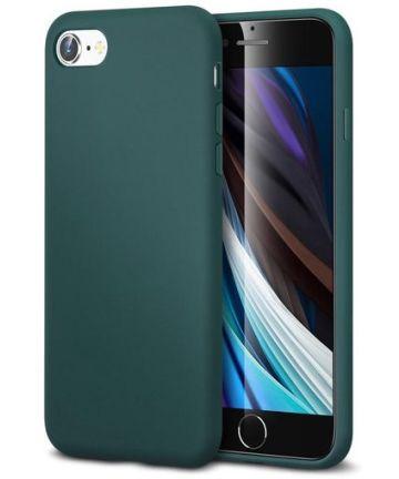 Apple iPhone 7/8/SE 2020 ESR Yippee Siliconen Hoesje Groen