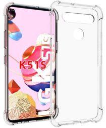 LG K51S Hoesje Schokbestendig en Dun TPU Transparant