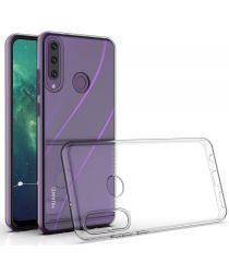 Huawei Y6P Hoesje Schokbestendig en Dun TPU Transparant