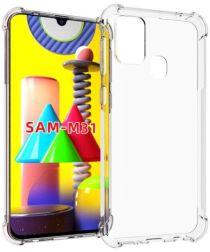 Samsung Galaxy M31 Hoesje Schokbestendig en Dun TPU Transparant