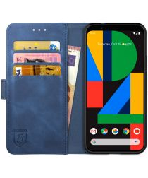Rosso Element Google Pixel 4A Hoesje Book Cover Blauw
