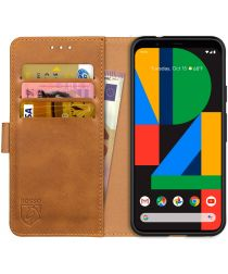Rosso Element Google Pixel 4A Hoesje Book Cover Lichtbruin