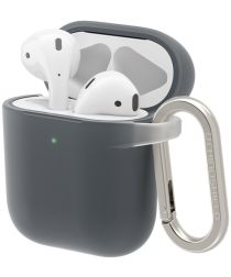 RhinoShield Apple AirPods Hard Plastic Hoesje Grijs