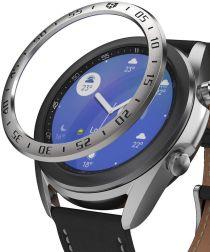Ringke Bezel Styling Galaxy Watch 3 41MM Randbeschermer RVS Zilver
