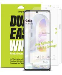 Ringke Dual Easy Wing LG Velvet Screenprotector (Duo Pack)