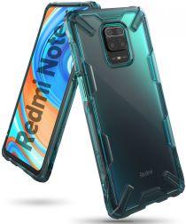 Ringke Fusion X Xiaomi Redmi Note 9S / Note 9 Pro Hoesje Groen