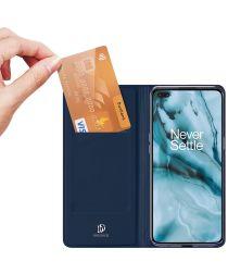 Dux Ducis Skin Pro Series OnePlus Nord Flip Hoesje Blauw