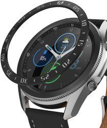 Ringke Bezel Styling Galaxy Watch 3 45MM Randbeschermer RVS Zwart